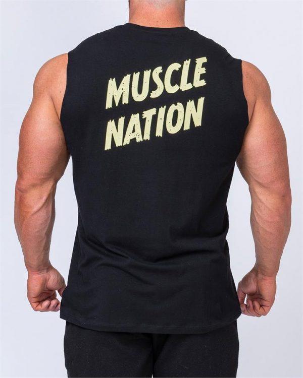 Classic Muscle Tank - Black - L