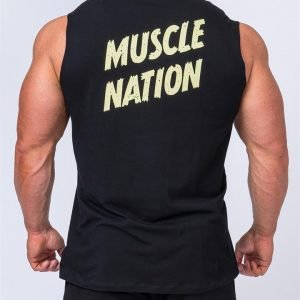 Classic Muscle Tank - Black - XXXL