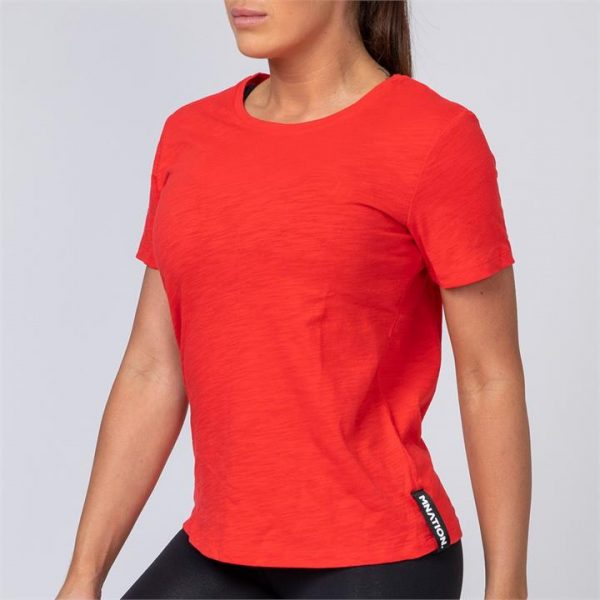 Classic Womens Tee - Red - XL
