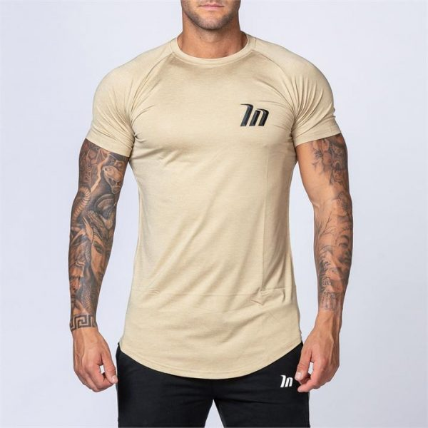 ClimaFlex Tshirt - Heather Beige - M