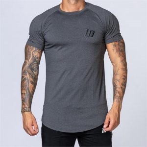 ClimaFlex Tshirt - Heather Charcoal Grey - L