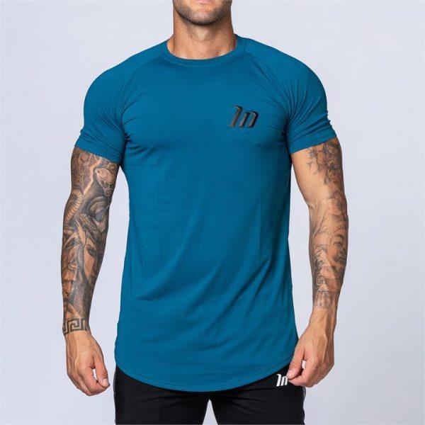 ClimaFlex Tshirt - Teal Blue - XXL