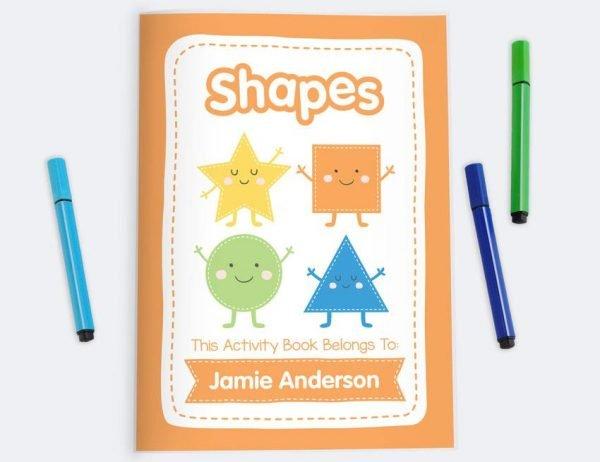 Colour & Shape Activity Book