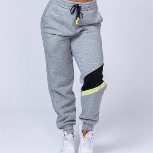 Comfy Tracksuit Pants - Grey - S