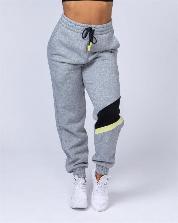 Comfy Tracksuit Pants - Grey - XS