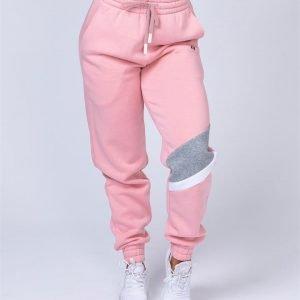 Comfy Tracksuit Pants - Pink - L
