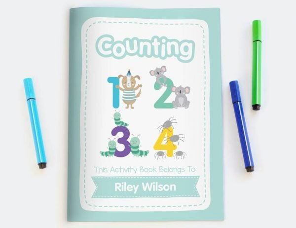 Counting Numbers Activity Book