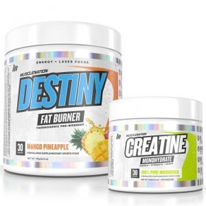 DESTINY Fat Burner + Creatine STACK - Bundle