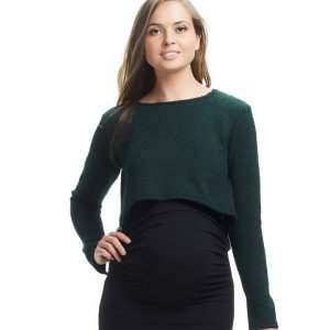 Daria Crop Knit Top