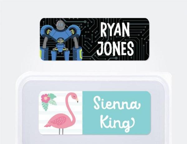 Designer Extra Large Name Labels