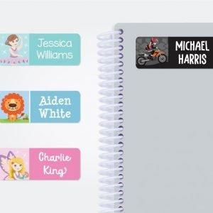 Designer Medium Name Labels