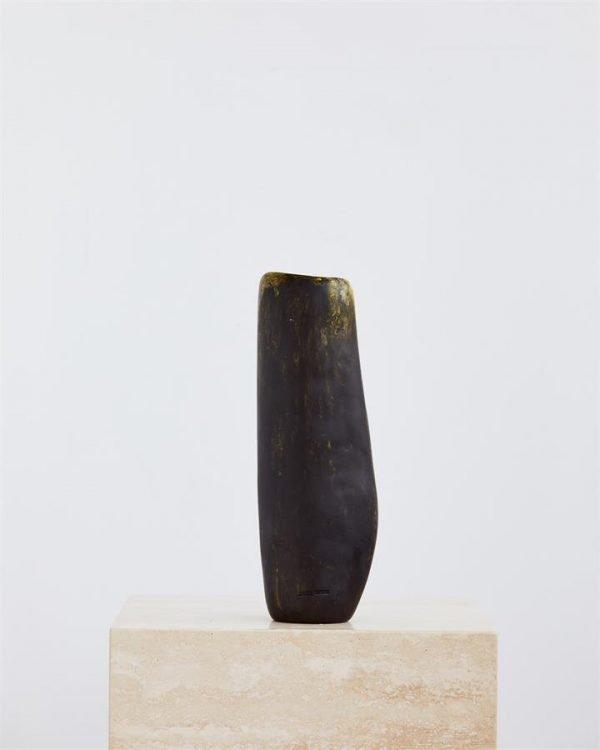 Dinosaur Designs Temple Vase In Malachite Swirl - Bed Threads