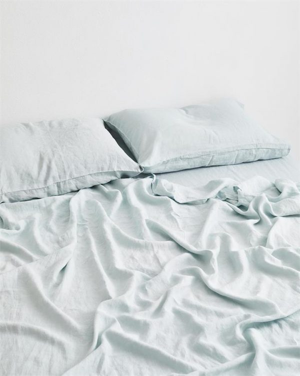Drift 100% Flax Linen Fitted Sheet - Bed Threads