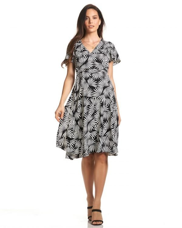 Elizabeth Midi Maternity Dress