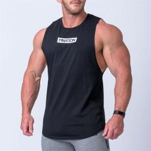 Embroidery Tank - Black - S