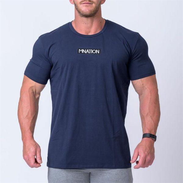 Embroidery Tee - Navy - XXL