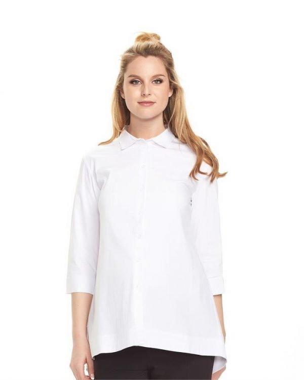 Essential 3/4 Sleeve Maternity Shirt