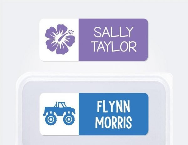 Extra Large Name Labels
