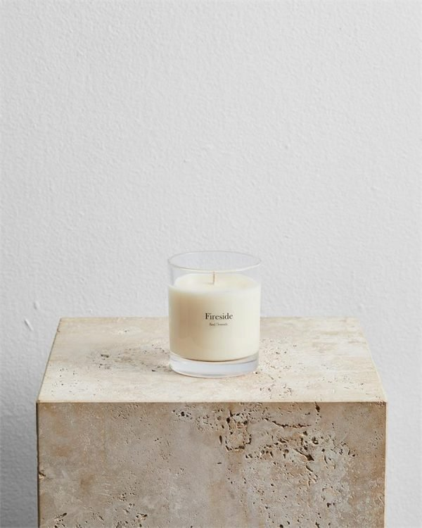 Fireside Candle by Bed Threads - Bed Threads