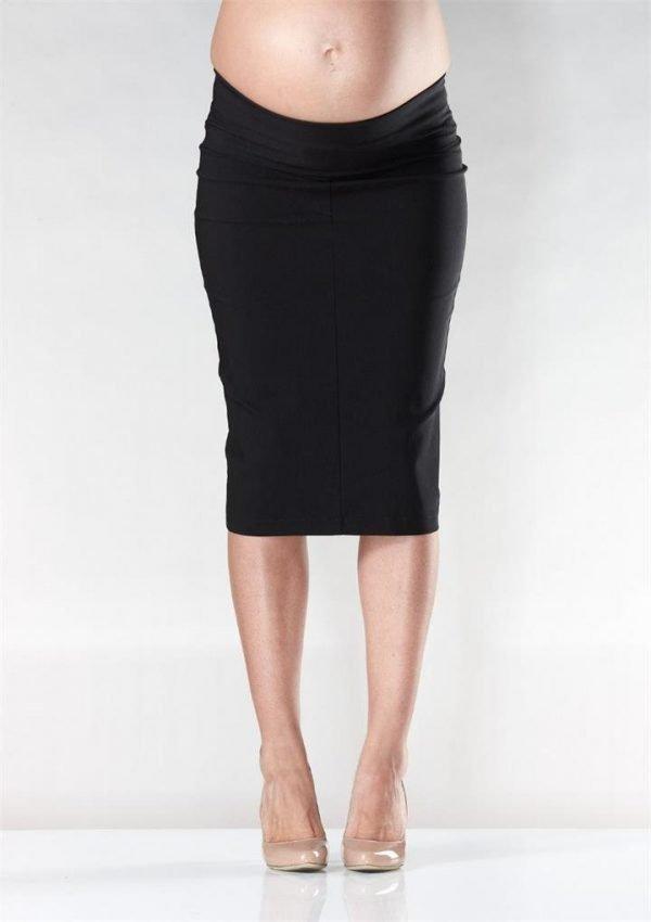 Flora Fold Pencil Maternity Skirt