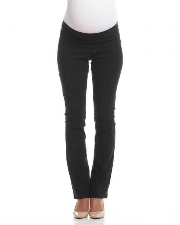 Flora Slim Straight Maternity Pants