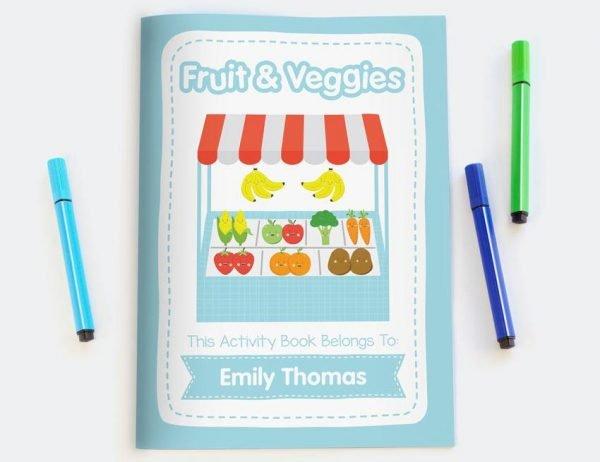 Fruit & Vegetables Activity Book