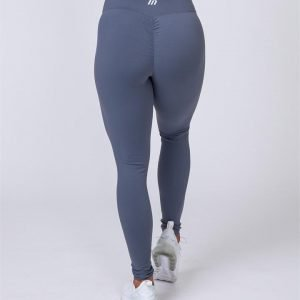 Full Length Scrunch Leggings - Titanium - XXS