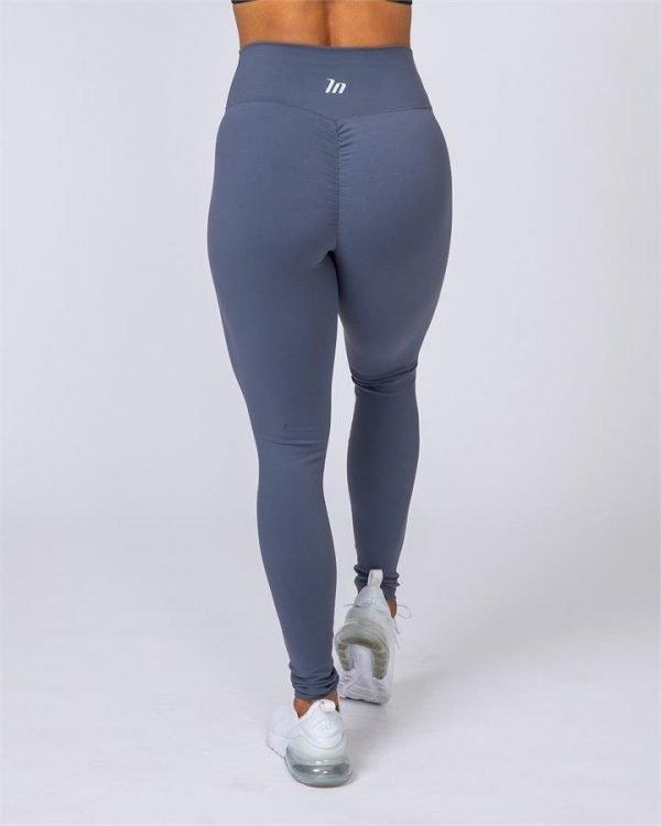 Full Length Scrunch Leggings - Titanium - XXS