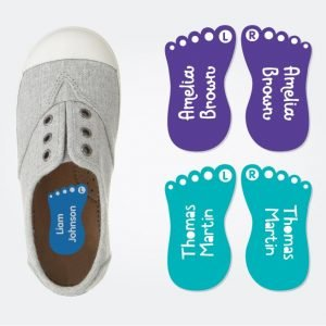 Funky Feet Shoe Labels