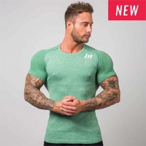 Ghost Seamless Tshirt - Green - S