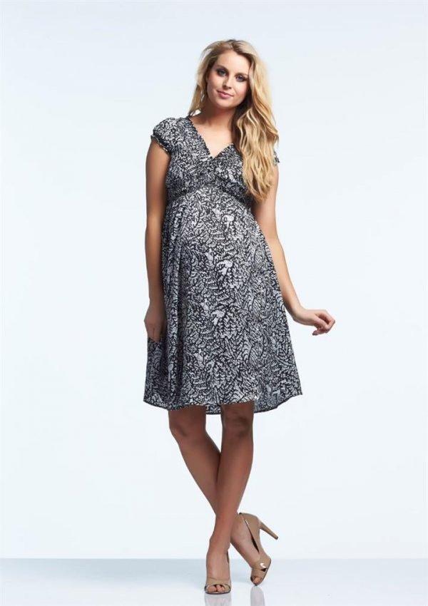 Jess Midi Maternity Dress