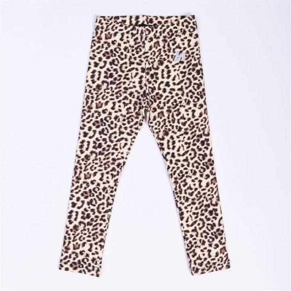 Kids MN Leggings - Yellow Leopard - 2