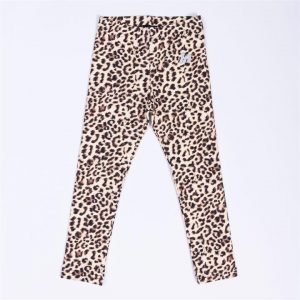 Kids MN Leggings - Yellow Leopard - 4