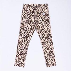 Kids MN Leggings - Yellow Leopard - 7
