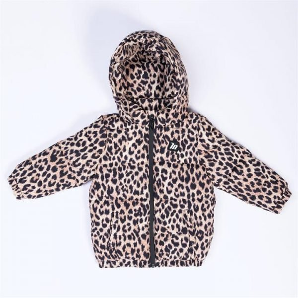 Kids MN Puffer - Yellow Leopard - 1-2