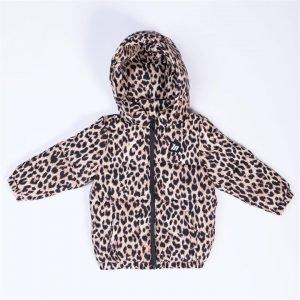 Kids MN Puffer - Yellow Leopard - 7-8