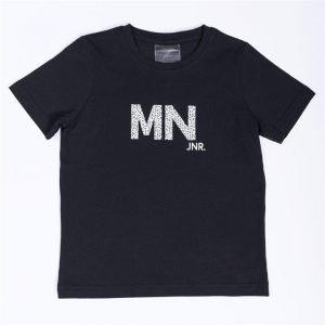 Kids MN Tee - Black / Snow Leopard - 6