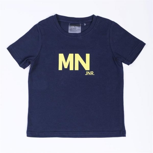 Kids MN Tee - Navy / Yellow - 3