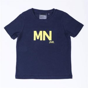 Kids MN Tee - Navy / Yellow - 6