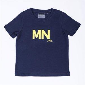 Kids MN Tee - Navy / Yellow - 8
