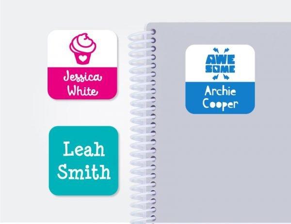 Large Square Labels