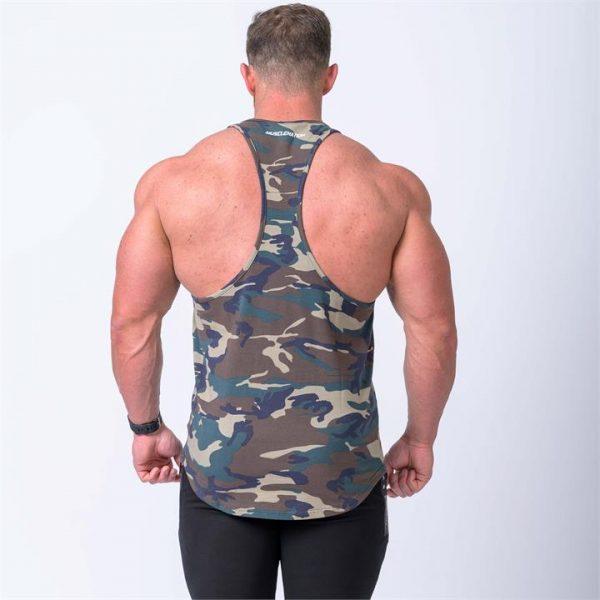 MN Y Back Singlet - Camo - XL