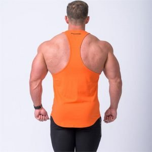 MN Y Back Singlet - Orange - L