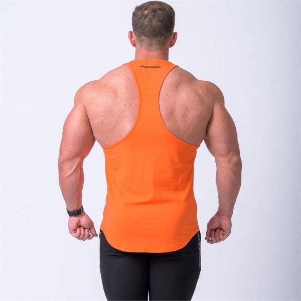MN Y Back Singlet - Orange - XXL