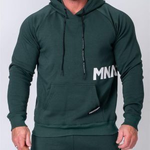 MNation Hoodie - Emerald Green - S