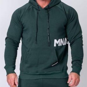 MNation Hoodie - Emerald Green - XXXL
