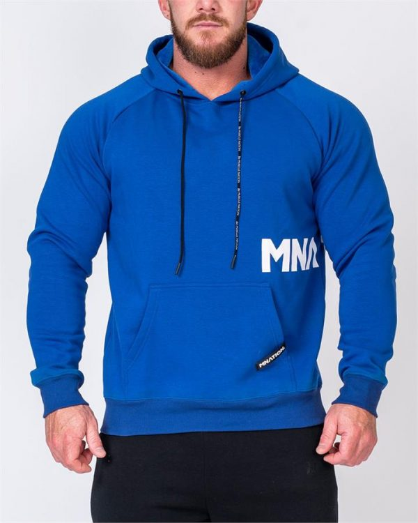 MNation Hoodie - Royal Blue - XL