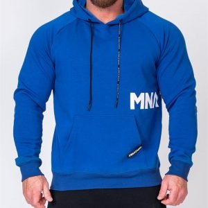 MNation Hoodie - Royal Blue - XXXL