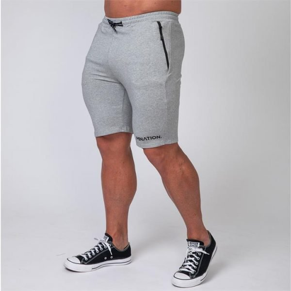 MNation Tapered Fit Shorts - Grey - XL