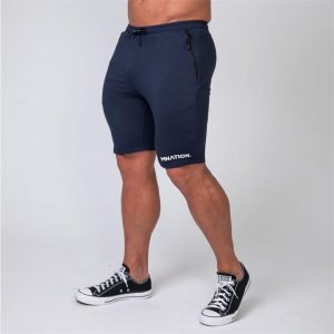 MNation Tapered Fit Shorts - Navy - XL